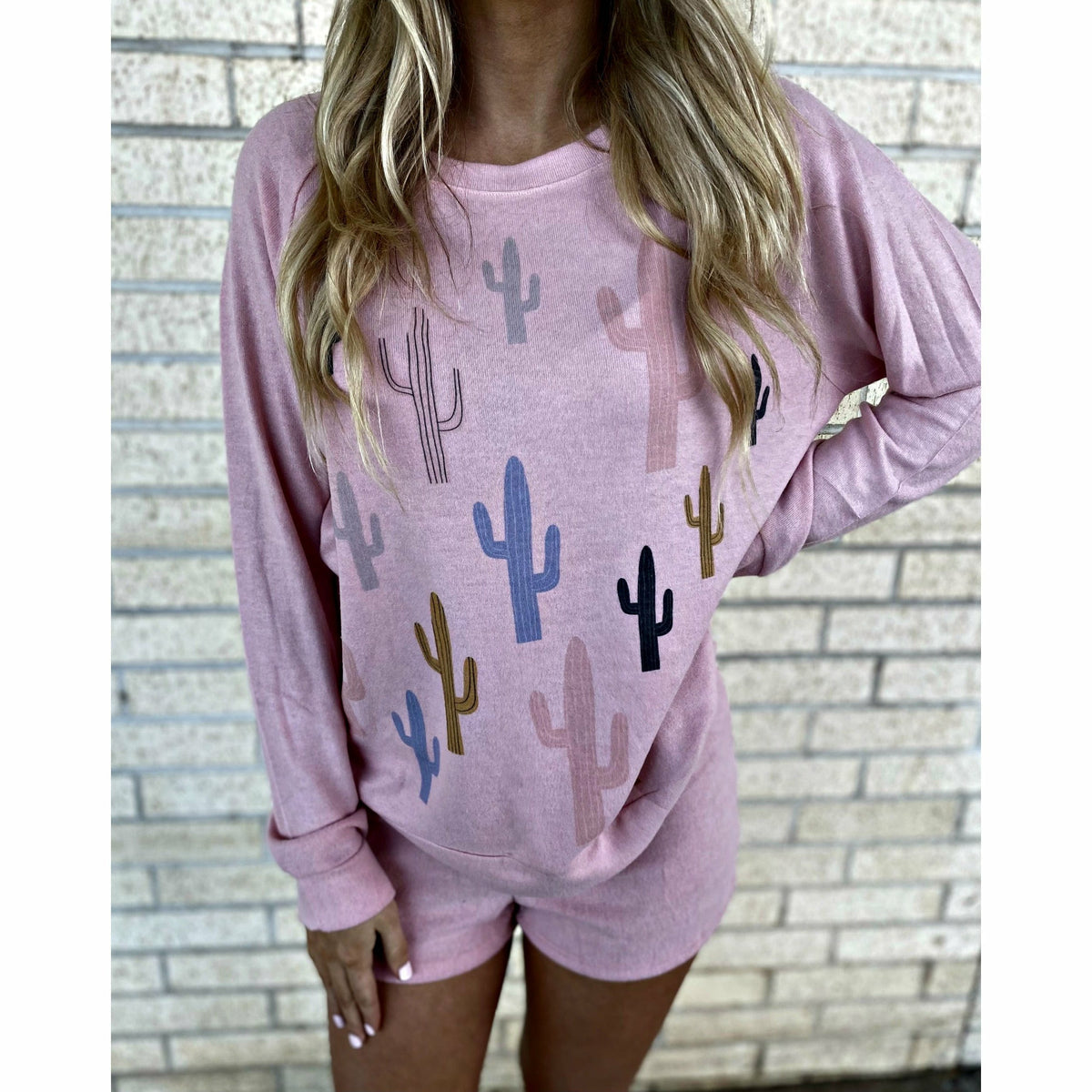 cactus sweater soft set