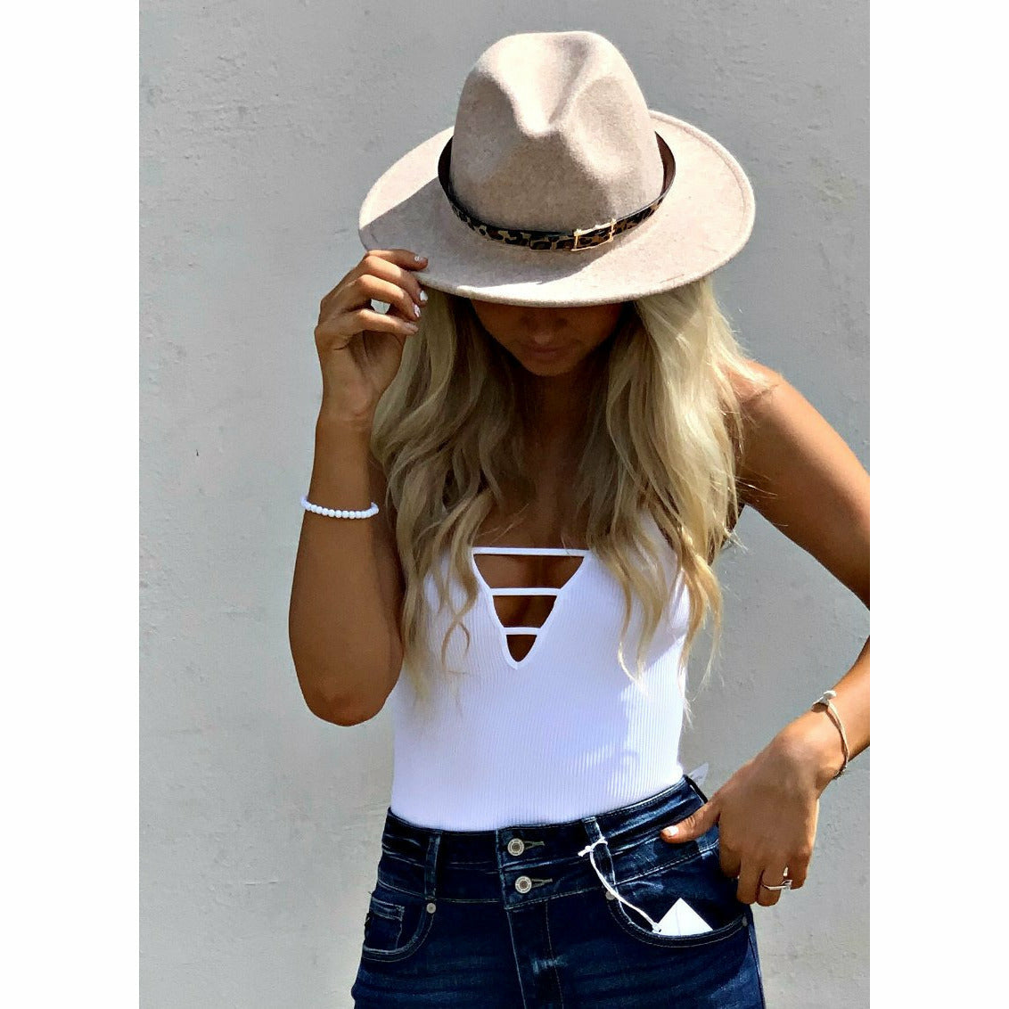 Belt Panama Hat (4 colors)