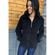 Sherpa Zip jacket ( more colors)