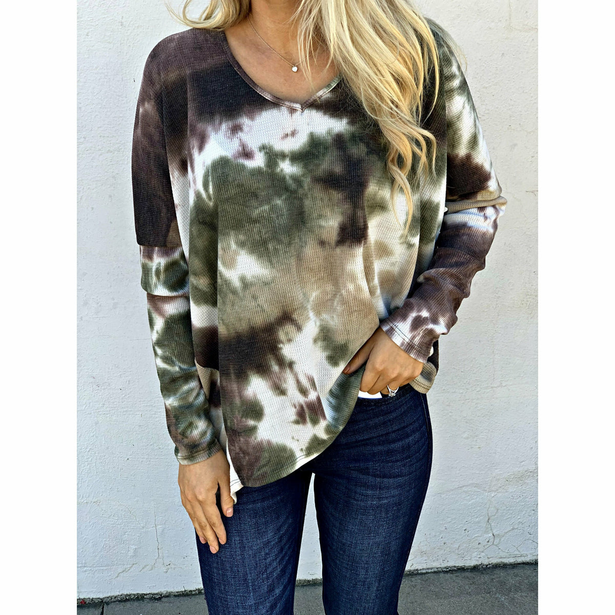 into the Forest Tie Dye Top