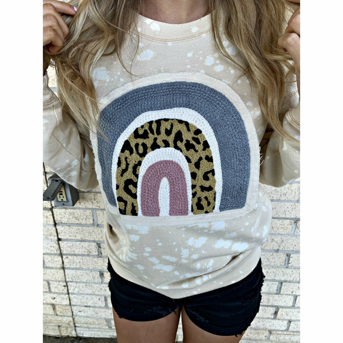 Rainbow Cheetah Sweatshirt