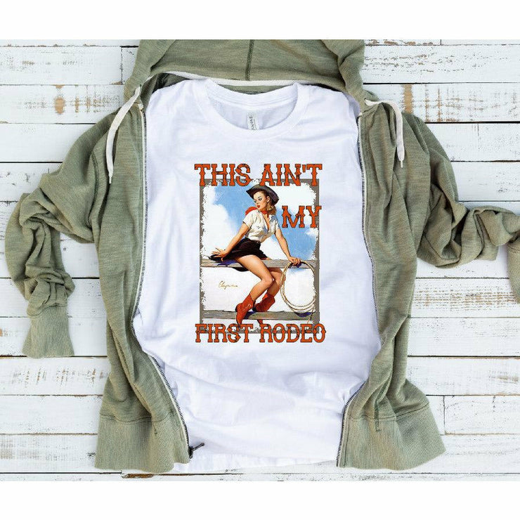 This ain't my first rodeo tee/tank