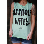 Asshole Wifey Tank Top - Gabriel Clothing Company