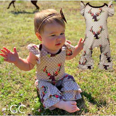 Miss Deer Infant Romper