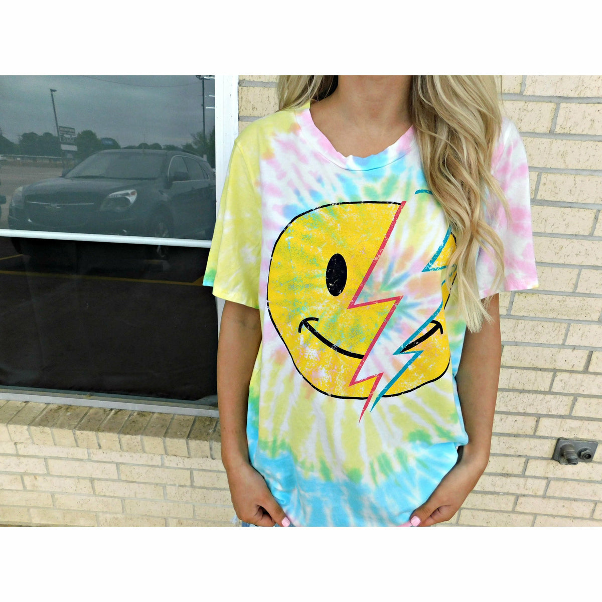 Smiley Tie Dye (plus)