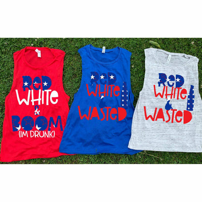 Red White & Boom/ Red White Wasted Tank