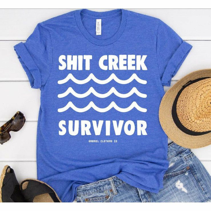 Shit Creek Survivor Tee