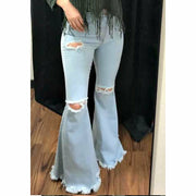 Gone Crazy LightWash Bell Bottom Denim pre-order