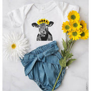 Sunflower Cow Infant/toddler