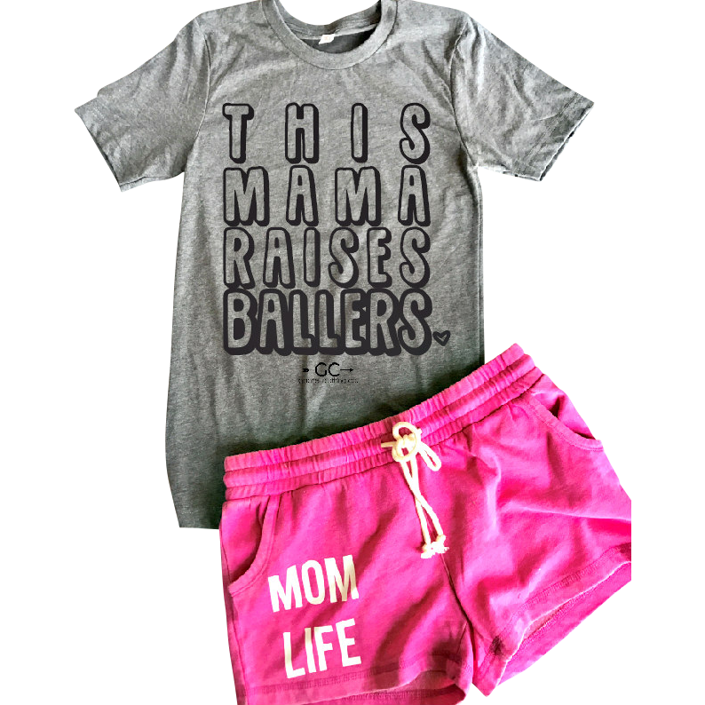 This Mama Raises Ballers Tee (more colors)