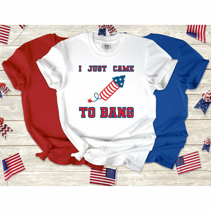 I came to bang tee or tank