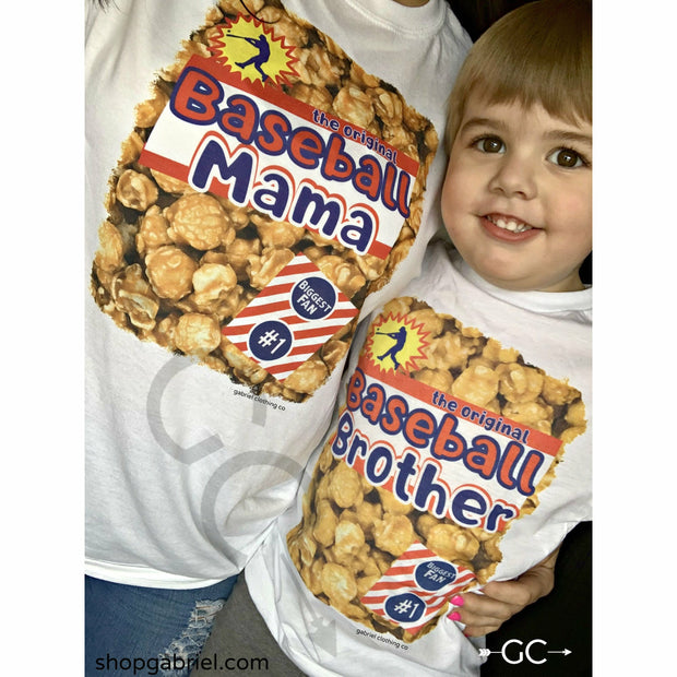Cracker Jack Mom Baseball or Softball (Tee,tank or Sweatshirt)