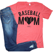 Baseball Mom (more colors) tee - Gabriel Clothing Company