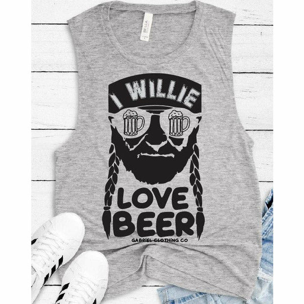I willie love beer tank