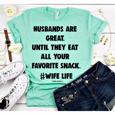 Husbands are great tee