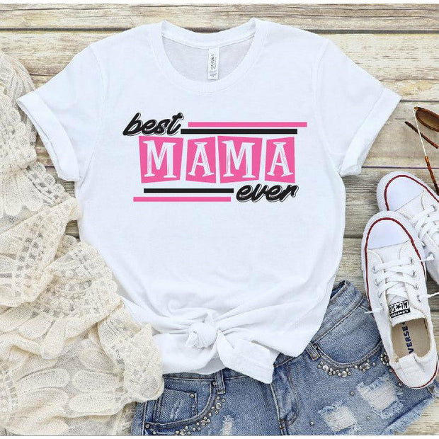 Best mom Ever Retro Design tee or tank