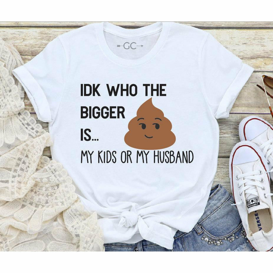 Who's the bigger (shit/poop Tee