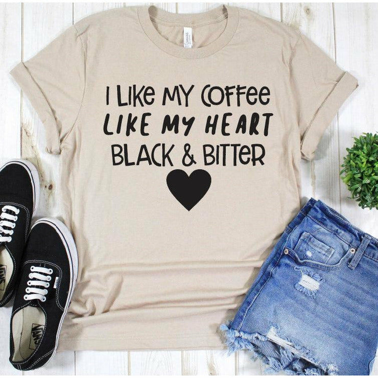 Coffee Black and Bitter tee