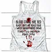 Blood Stains Tee or Tank