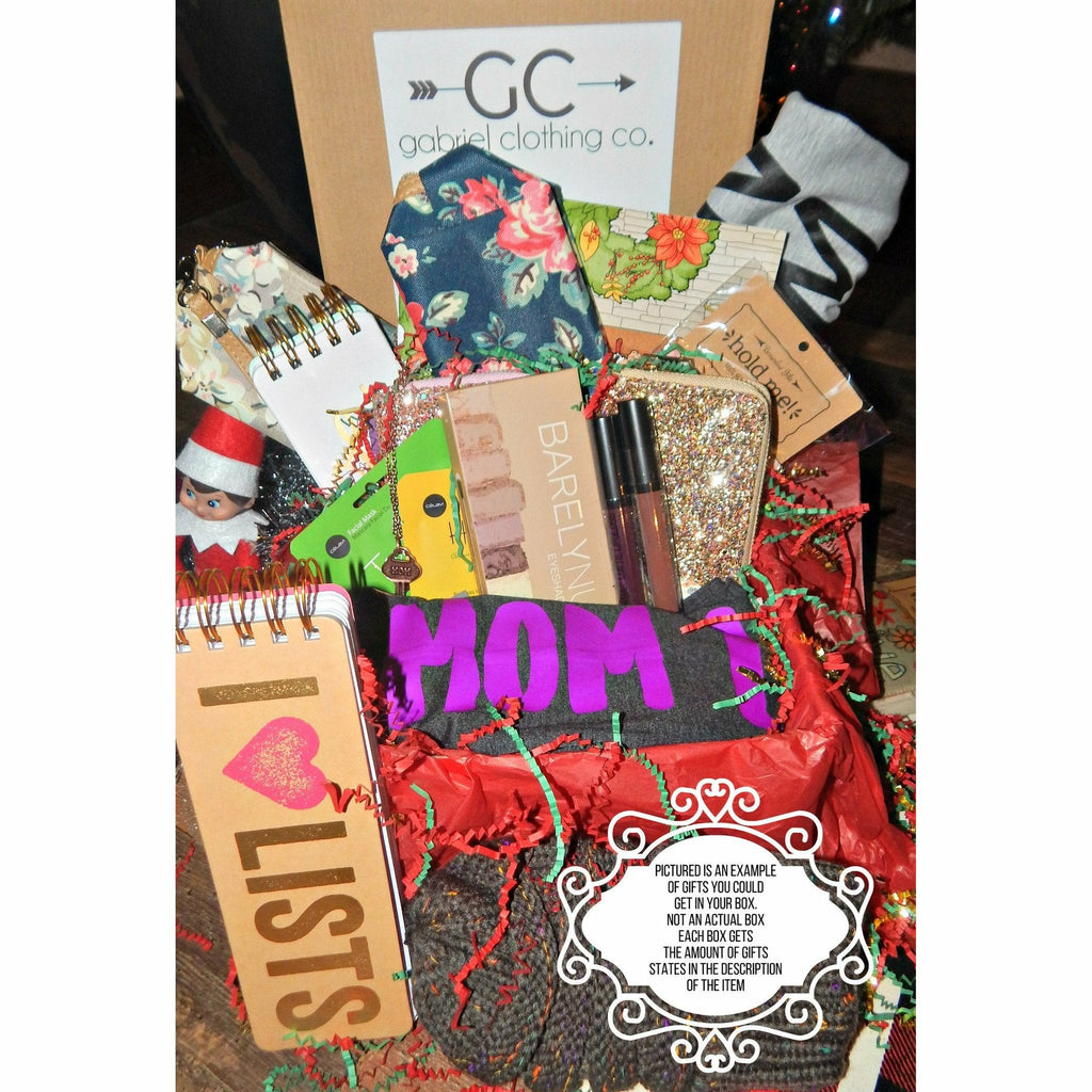 Small Mom Box  (customize below) - Gabriel Clothing Company