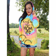 Rockin the Mom life Hoodie - Gabriel Clothing Company