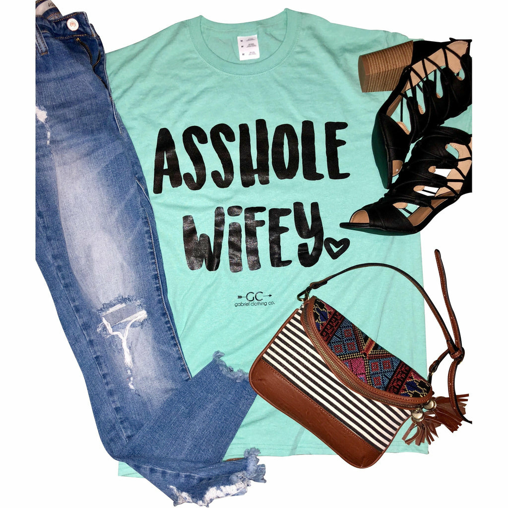 Asshole Wifey (colors) - Gabriel Clothing Company