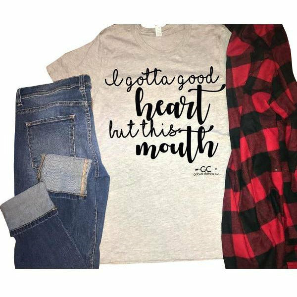 Good Heart (our original tee) - Gabriel Clothing Company