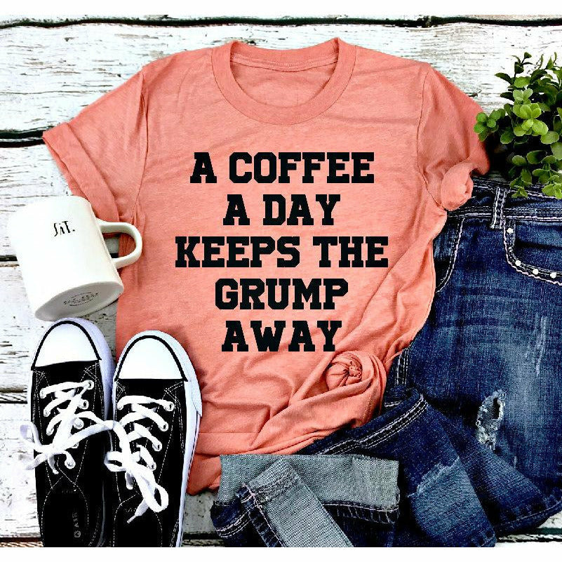 a coffee a day tee