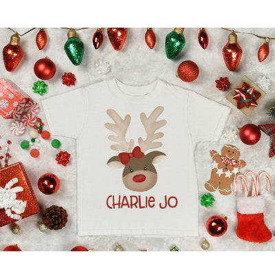Girly Reindeer Customize - Gabriel Clothing Company