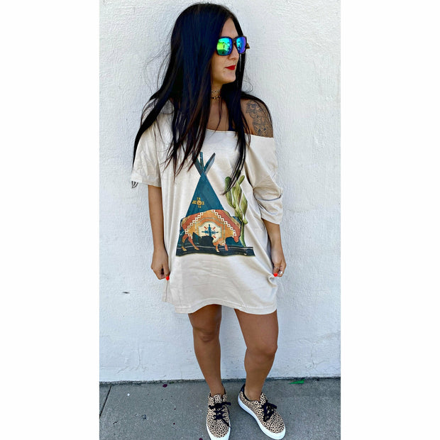 Buffalo Desert T--Shirt Dress