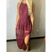 Fall in Love Lace Maxi Dress