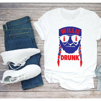 Willie drunk tee/tank