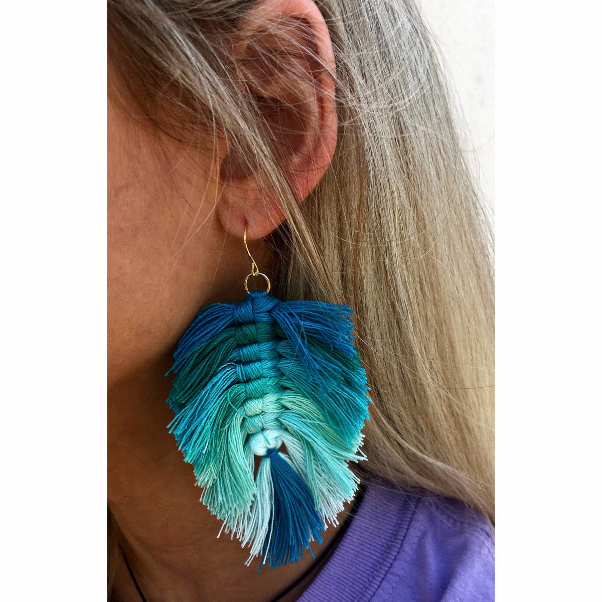 Teal Dreamer Earrings