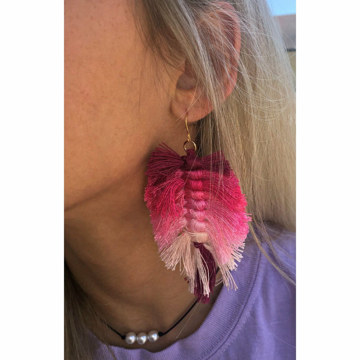 Pink Dreamer Earrings