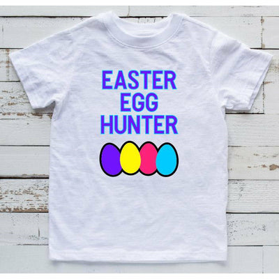 easter egg hunter kids tee