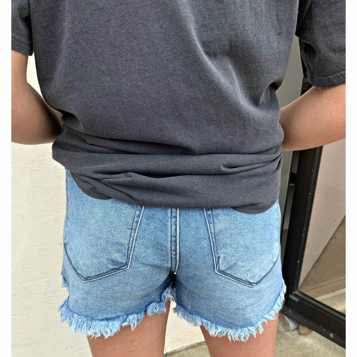 Mom denim Shorts