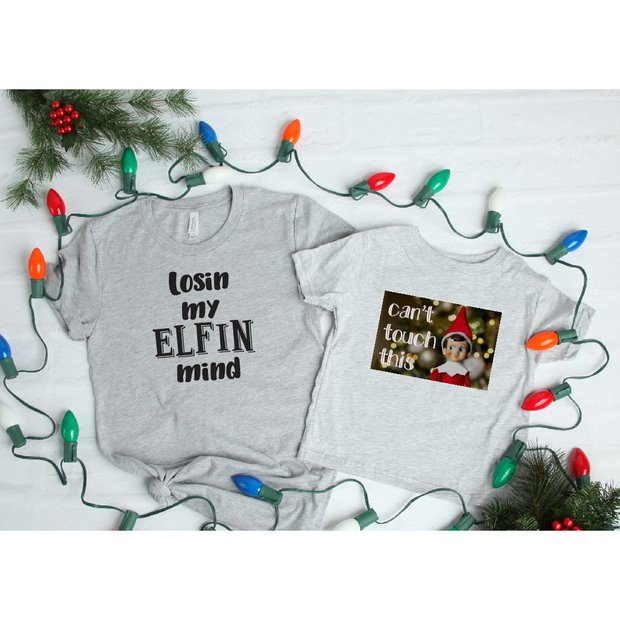 Elfin Mind/Can't Touch This Tee - Gabriel Clothing Company