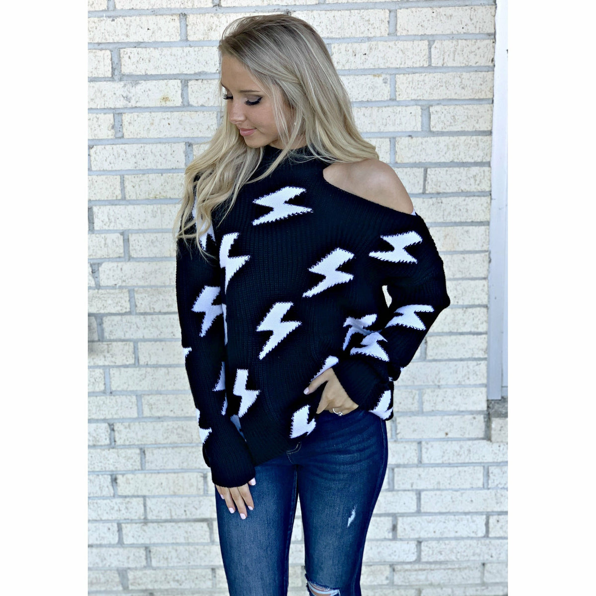 Mallory Bolt Sweater