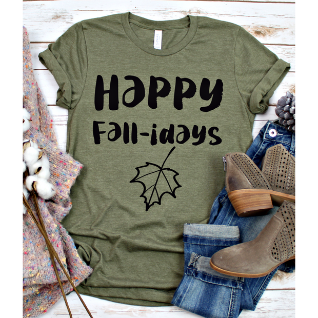Happy Fall-idays Tee
