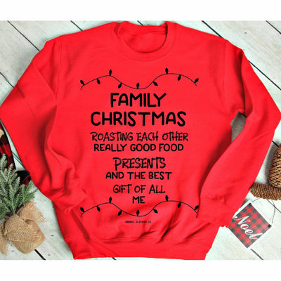 Family Christmas tee/sweatshirt or long sleeve