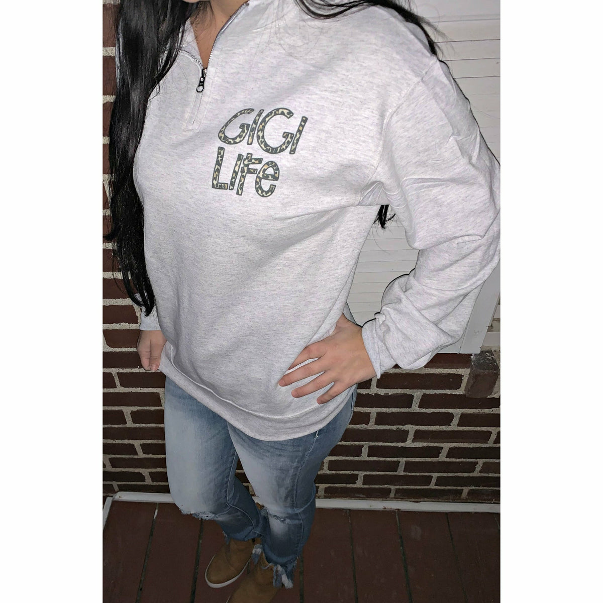 Zip Pullover (Mom, Aunt, Gigi or Custom)