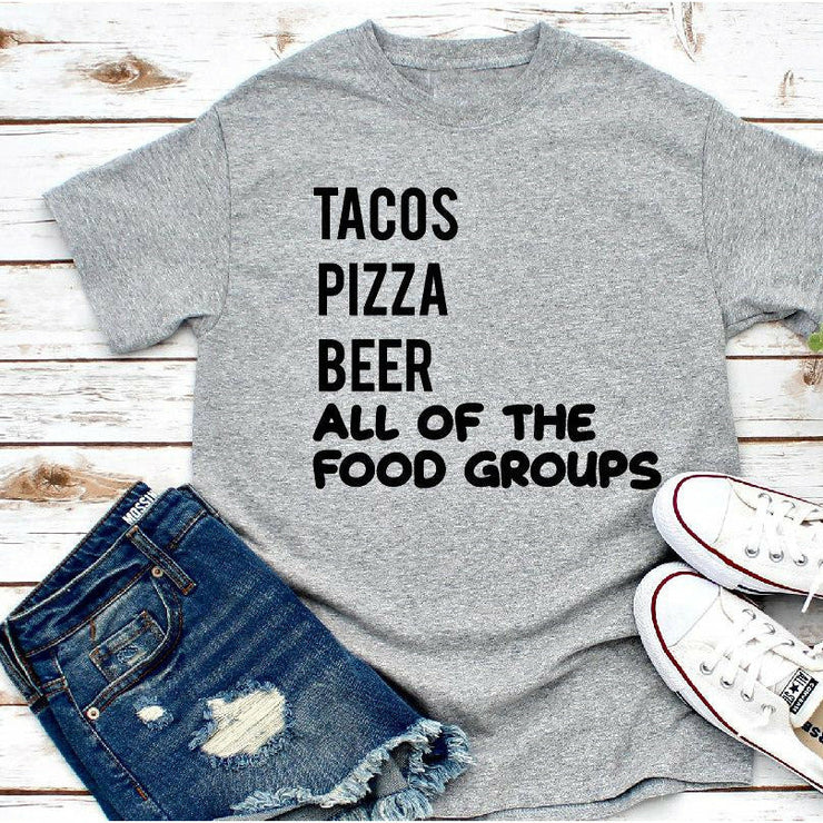 All of the food groups tee