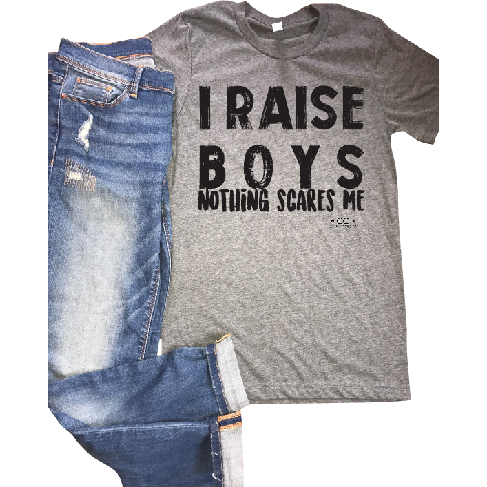 I raise boys tee - Gabriel Clothing Company