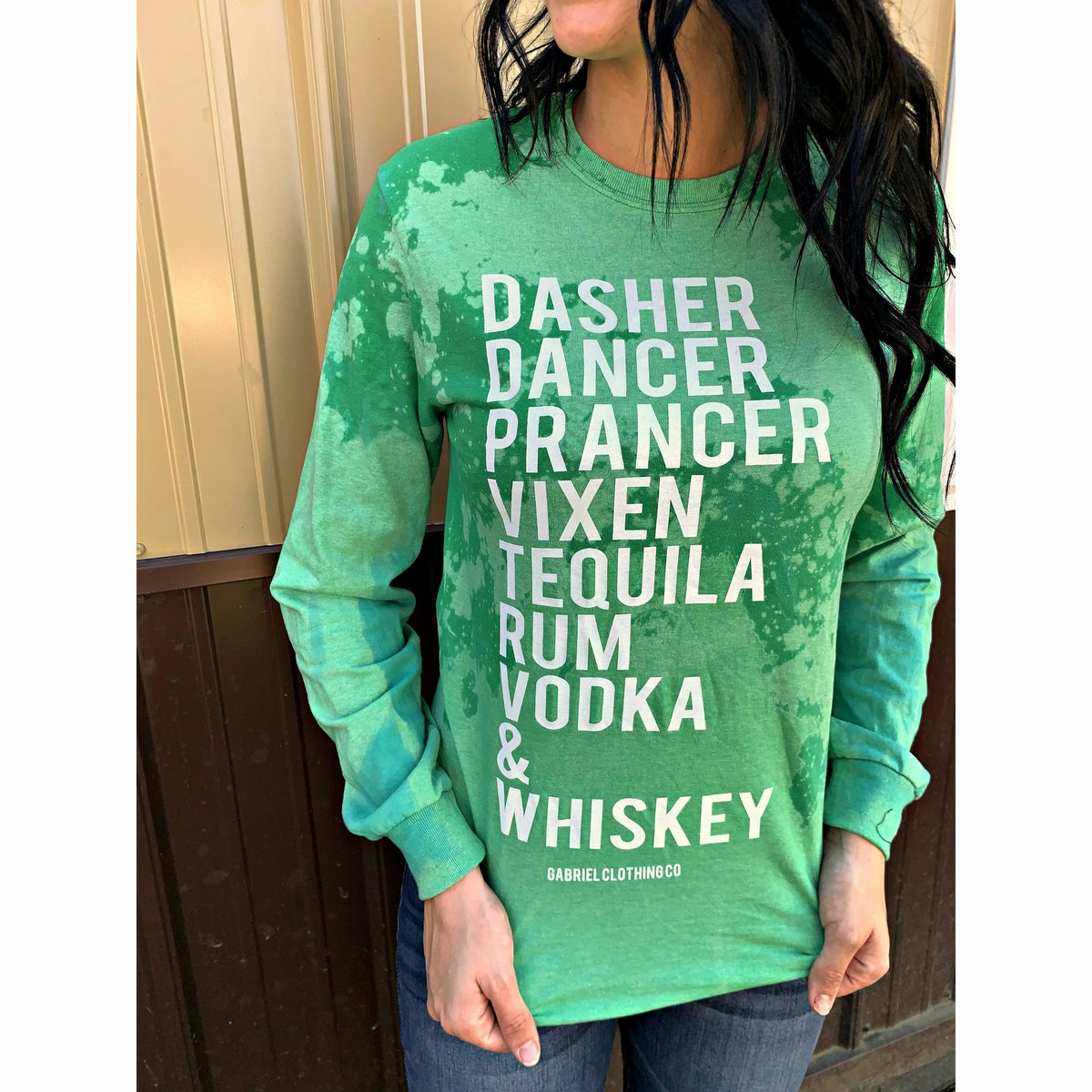 Reindeer Games Distressed (Long Sleeve or tee) t-shirt