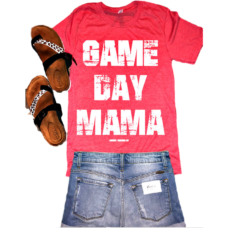 Game Day Mama tee - Gabriel Clothing Company