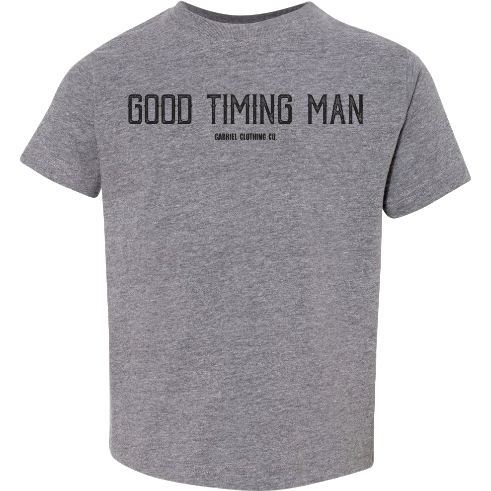 Good Timing Man Tee - Gabriel Clothing Company