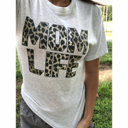 Wild Mom Life tee (super soft)
