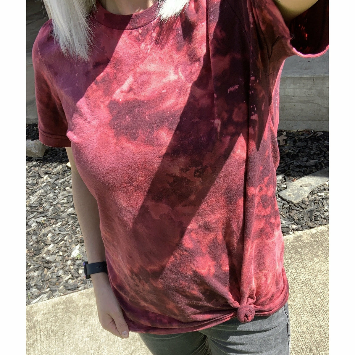 Plum Spaced Out Tee