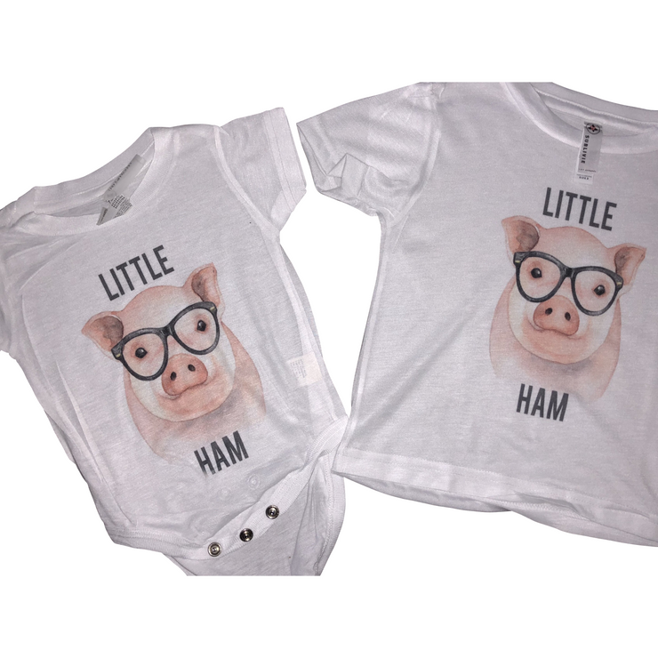 Little ham tee/onesie - Gabriel Clothing Company