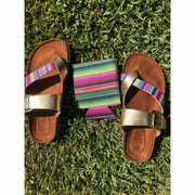 Gold Serape Dream Sandal Pre-Order  (GC EXCLUSIVE) - Gabriel Clothing Company